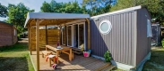 camping location mobil-home iris landes