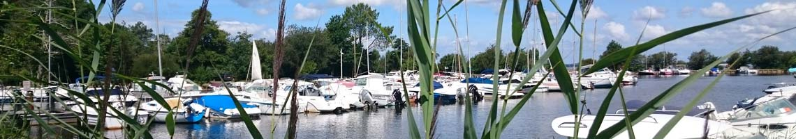 camping location mobil-home lac-biscarrosse