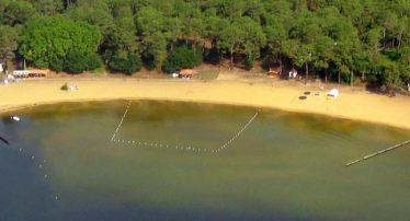 camping location proche lac sanguinet