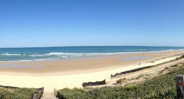camping location proche plage oceane biscarrosse