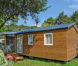 location camping mobil-home landes