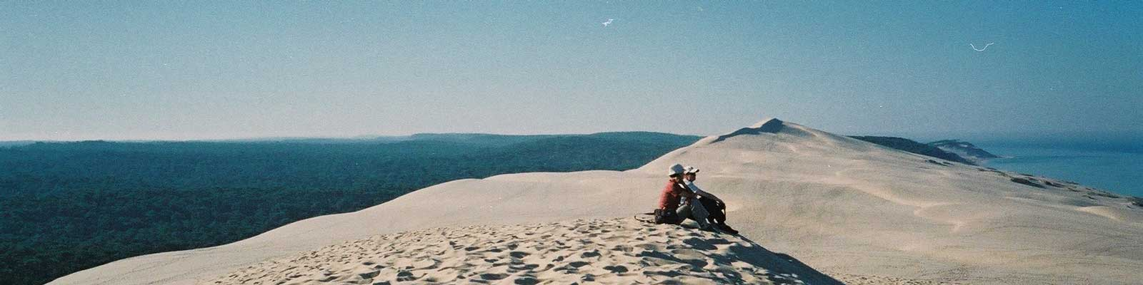 location camping proche dune du pyla