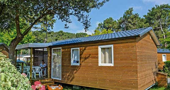 location camping vanille landes