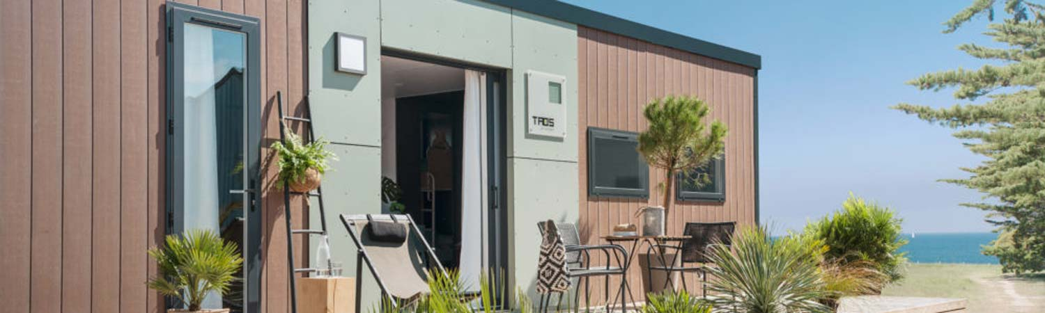 camping mobil-home luxe biscarrosse