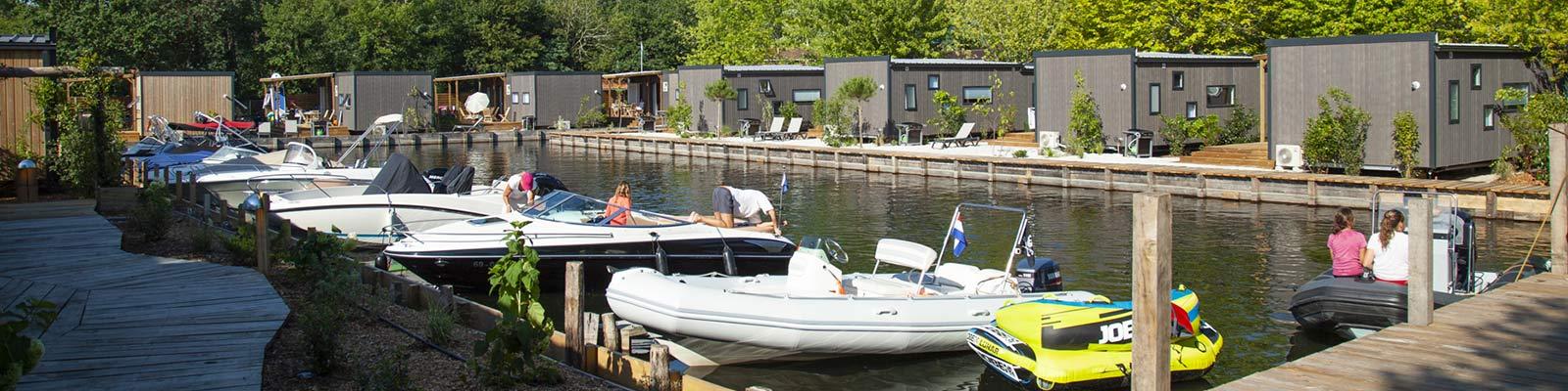 camping avec bateaux a biscarros