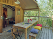 camping biscarros mobile home terrace