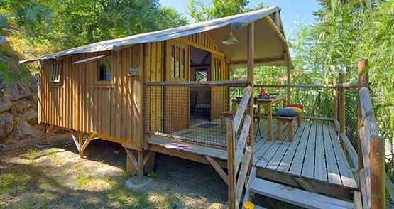 camping mobil home bellande Landes