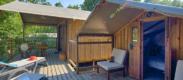 camping avec mobil-home équipé a Biscarrosse