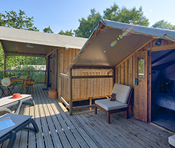 camping mobile home insolite dans les landes