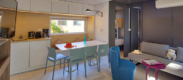 vacances mobil home luxe Biscarrosse