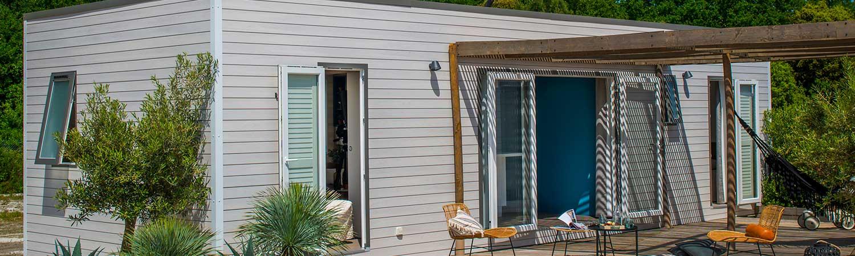 location mobil home tiar plage landes camping maguide. Black Bedroom Furniture Sets. Home Design Ideas