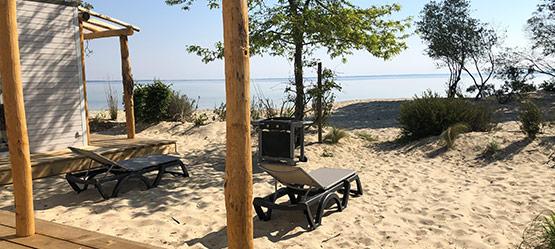 vacances en bord de plage dans les landes