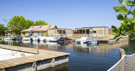camping luxe landes