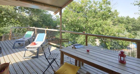 location cabane équipé biscarrosse