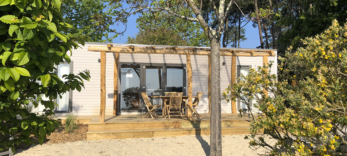 mobil-home luxe landes