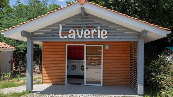 camping laverie landes